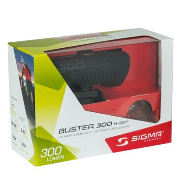 Žibintų komplektas Sigma Buster 300 + Nugget II