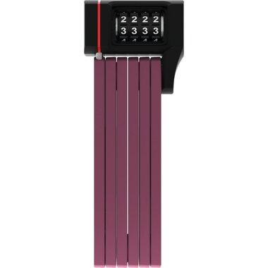 Spyna ABUS Ugrip Bordo 5700C/80 sulankstoma su kodu (violetinė)