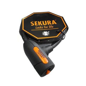 Spyna Sekura KB203 trosas 1850x12mm su laikikliu