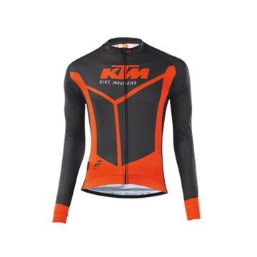 Marškinėliai KTM FT II ilgom rankovėm (juoda/oranžinė) dydis XXXL