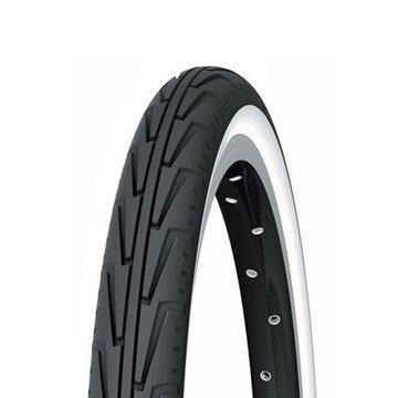 Padanga Michelin Junior City 24x1.75 (44-507) su baltu šonu