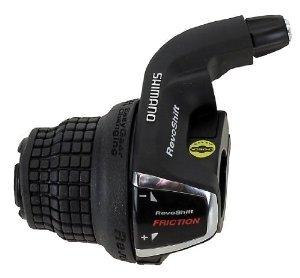Pavarų rankenėlė Shimano Tourney RS35 Revo Friction 3 pav. kairė
