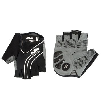 Pirštinės KTM (juoda/balta) S