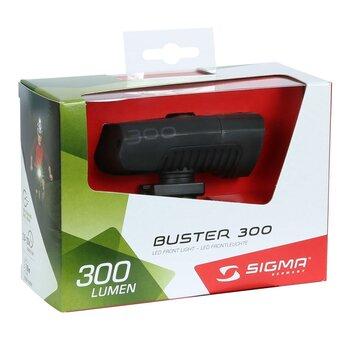 Priekinis žibintas SIGMA Buster USB 300lum