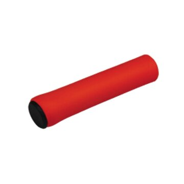 Rankenos BONIN MTB 130mm (silikoninės, raudonos)