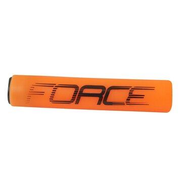 Rankenos FORCE Slick 125mm (silikoninės, oranžinės)
