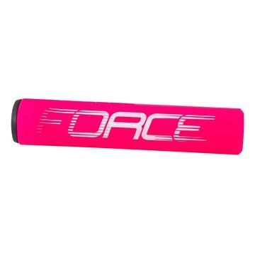 Rankenos FORCE Slick 125mm (silikoninės, rožinės)