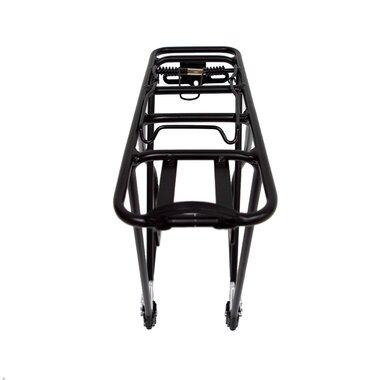 """Galinė bagažinė JHT 26-28"""" (aliuminė, juoda) 25kg"""