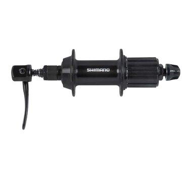 Stebulė galinė Shimano Tourney TX500 su greitveržle 36H 8/9 pavarų kasetei