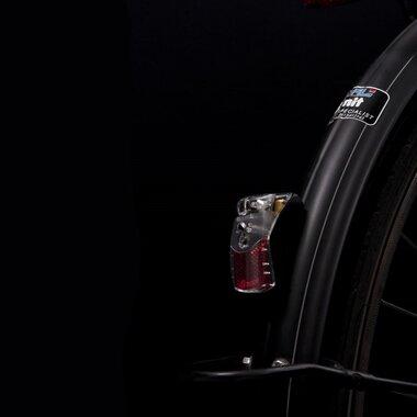 Galinis KTM GUARDE žibintas tvirtinamas ant galinės šakės