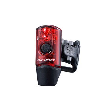 Galinis žibintas D-LIGHT 214R USB 2LEDx0,12W