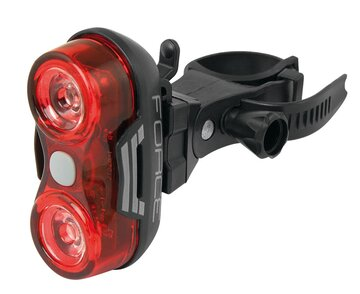 Galinis žibintas FORCE Optic 2LED 3 funkcijos