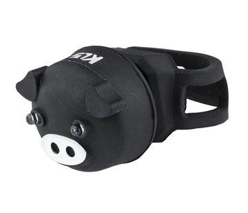 Galinis žibintas KLS Piggy (juodas)