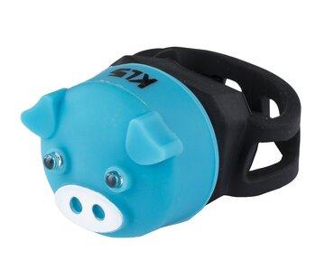 Galinis žibintas KLS Piggy (mėlynas)