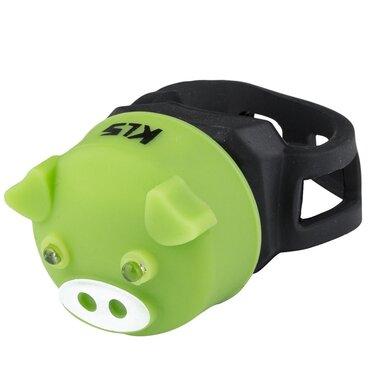 Galinis žibintas KLS Piggy (žalia)