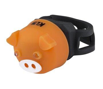 Galinis žibintas KLS Piggy (oranžinis)
