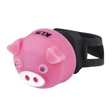 Galinis žibintas KLS Piggy (rožinė)