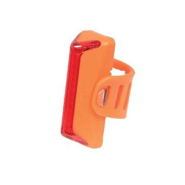 Galinis žibintas KTM LED 180, pakraunamas per USB (silikoninis, oranžinis)