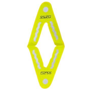 Atspindinti vaikiška liemenė FORCE (geltona)