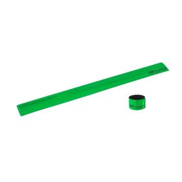 Atšvaitinė juostelė FORCE 38cm (žalia)