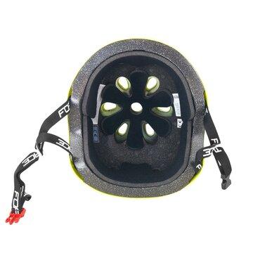Šalmas FORCE BMX 58-61cm (fluorescentinis)