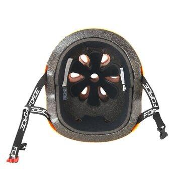 Šalmas FORCE BMX 58-61cm (oranžinis)