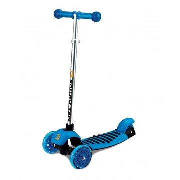 Paspirtukas Kidz Motion Rapid su 3 ratais (mėlynas)