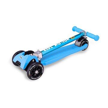 Paspirtukas Kidz Motion Synergy su 3 ratais (mėlynas)