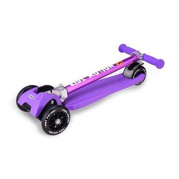 Paspirtukas Kidz Motion Synergy su 3 ratais (violetinė)