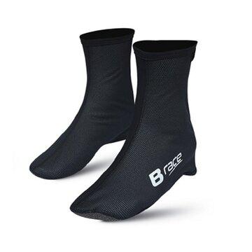 Antbačiai BONIN B-Race su apsauga nuo vėjo (juodi) 43-45 (L)