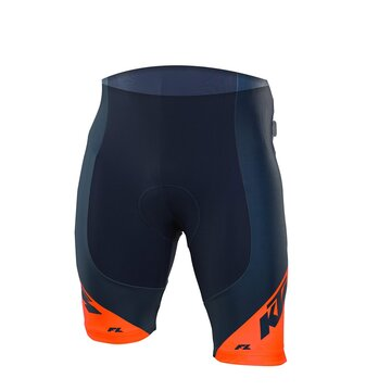 Shorts KTM FL II with inner padding (dark blue/orange) size L