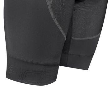 Šortai su petnešom FORCE Fame su paminkštinimu (juoda) XL