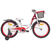 "4KIDS Betty II 20"" (plieninis, balta/raudona)"