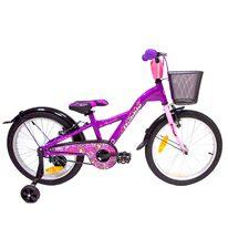 """4KIDS Bubble 20"""" dydis 10""""(25.5 cm) (aliuminis, violetinė/rožinė)"""