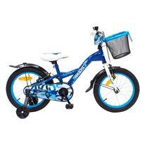 """4KIDS Camo Boy II 16"""" size 9.5"""" (24cm) (steel, blue)"""