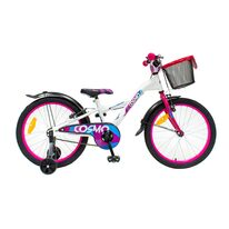 """4KIDS Cosmo II 20"""" size 10"""" (25cm) (steel, white/pink)"""