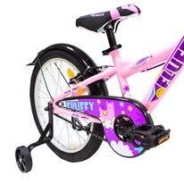 """4KIDS Fluffy 20"""" dydis 10""""(25.5 cm) (plieninis, violetinė/rožinė)"""