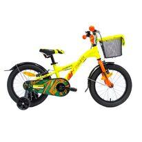 "4KIDS Jumper 16"" size 9.5"" (24cm) (aluminium, neon yellow/orange)"