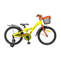 """4KIDS Jumper II 20"""" dydis 10"""" (25,5cm) (aliuminis, neoninė geltona /oranžinė)"""