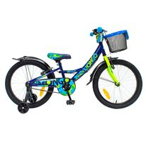 "4KIDS Mongo Blue II 20"" размер 10"" (25cm) (сталь, Синий / зеленый)"