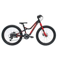 "4KIDS Raptor 24"" size 13,5"" (34cm) (aluminium, black/red)"