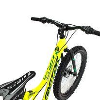 """4KIDS Raptor 24"""" dydis 13,5"""" (34cm) (aliuminis, geltona/žalia)"""