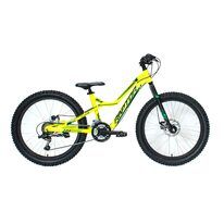"4KIDS Raptor 24"" size 13,5"" (34cm) (aluminium, yellow/green)"