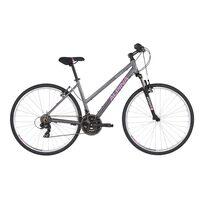 """ALPINA Eco LC10 28"""" dydis 18"""" (46cm) (pilka/rožinė)"""