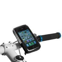 Apple IPhone telefono laikiklis ant vairo BONIN 22,2-31,8mm 13x7,5x2cm (juodas)