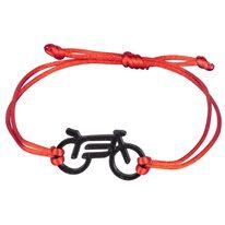 Apyrankė FORCE Bike, (juoda/raudona)