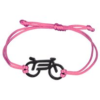 Apyrankė FORCE Bike, (juoda/rožinė)