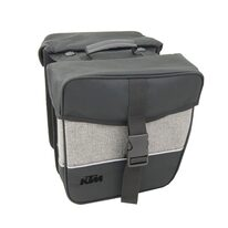 Krepšys KTM Europe ant bagažinės su Snap-It adapteriu 27x31x11cm 25l