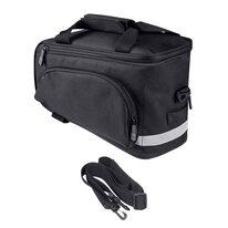 Krepšys ant bagažinės FORCE Slim Bud 9l, juodas