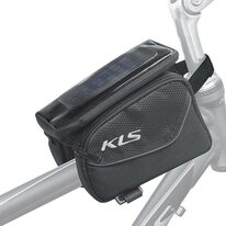Bag on frame KLS Alpha with phone holder 0,9l